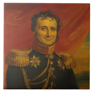 Baron Antoine-Henri Jomini, by George Dawe Tile