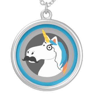 Baron Cornelius Round Pendant Necklace
