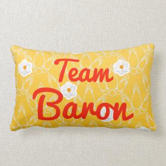 Barón del equipo almohadas