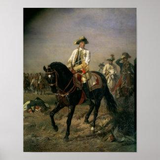 Barón Ernst von Laudon del mariscal de campo Póster