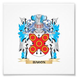 Barón escudo de armas impresión fotográfica