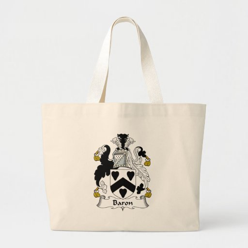 Baron Family Crest Bags