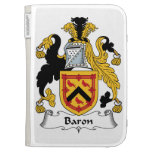 Baron Family Crest Kindle 3G Cases