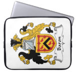 Baron Family Crest Laptop Sleeves