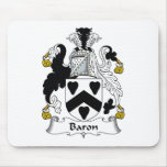 Baron Family Crest Mouse Mat