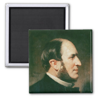 Baron Georges Eugene Haussmann  1867 Fridge Magnet