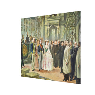 Baron Georges-Eugene Haussmann Canvas Print