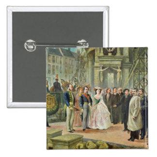 Baron Georges-Eugene Haussmann Pinback Button