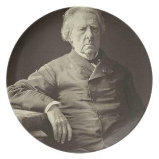 Baron Isidore Justin Severin Taylor (1789-1879), f Melamine Plate