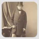 Barón James Rothschild Pegatina Cuadrada