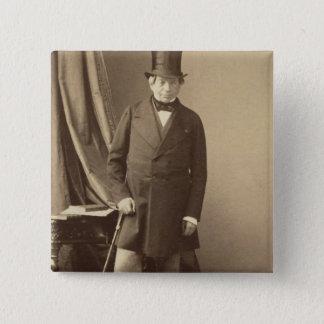 Baron James Rothschild Pinback Button