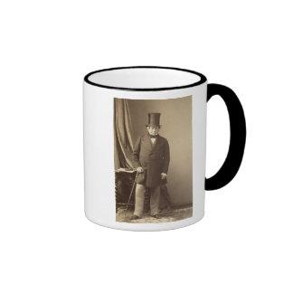 Baron James Rothschild Ringer Coffee Mug