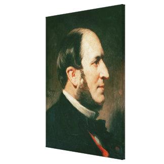Barón Jorte Eugene Haussmann 1867 Lienzo Envuelto Para Galerías