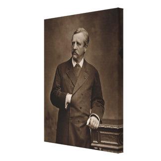 Baron Nils Adolf Erik Nordenskjold (1832-1901), fr Canvas Print