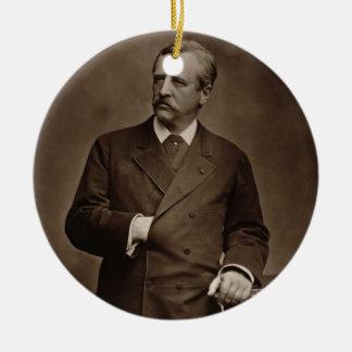 Baron Nils Adolf Erik Nordenskjold (1832-1901), fr Ceramic Ornament