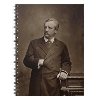 Baron Nils Adolf Erik Nordenskjold (1832-1901), fr Notebook