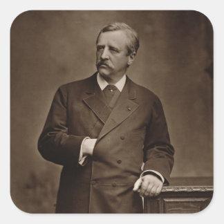 Barón Nils Adolfo Erik Nordenskjold (1832-1901), Pegatina Cuadrada