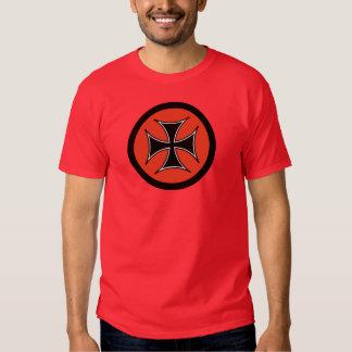 Barón rojo Iron Cross Tee Remeras