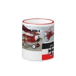 barón rojo taza de dos colores