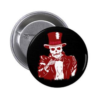 Baron Samedi Pinback Button