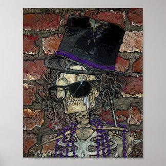 Baron Samedi, Voodoo Spirit of Death Poster