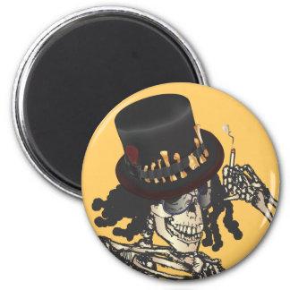 Barón Semedi y el gorra de Semedi Imán Redondo 5 Cm