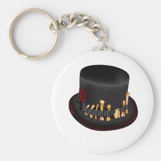 Barón Semedi y el gorra de Semedi Llavero Redondo Tipo Pin