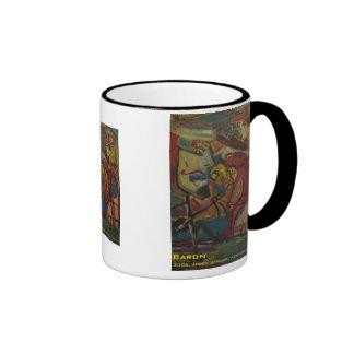 barón taza de dos colores