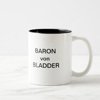 BARÓN von BLADDER Taza De Dos Tonos