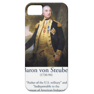 Baron von Steuben - US Military iPhone 5 Cases