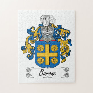 Barone Family Crest Jigsaw Puzzle