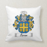 Barone Family Crest Pillow