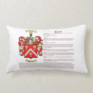 Barone (significado) almohadas
