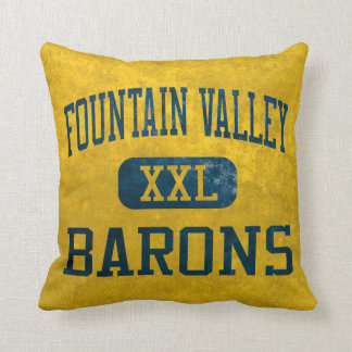 Barones Athletics de Fountain Valley Almohada