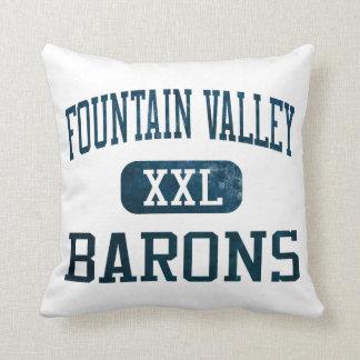 Barones Athletics de Fountain Valley Almohadas