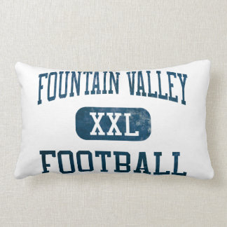 Barones Football de Fountain Valley Almohada