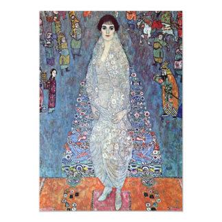 """Baronesa Elisabeth Bacchofen Echt, Klimt del Invitación 5"""" X 7"""""""