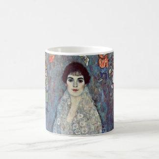 Baronesa Elisabeth Bacchofen Echt Klimt del retra Taza De Café