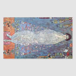 Baronesa Elizabeth de Gustavo Klimt Rectangular Altavoces