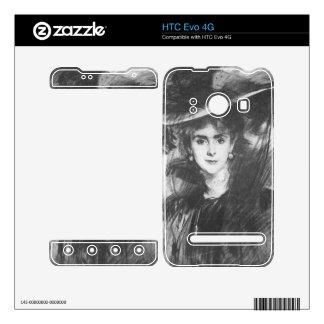 Baroness de Meyer by John Singer Sargent HTC Evo 4G Skins