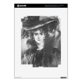 Baroness de Meyer by John Singer Sargent iPad 3 Decal