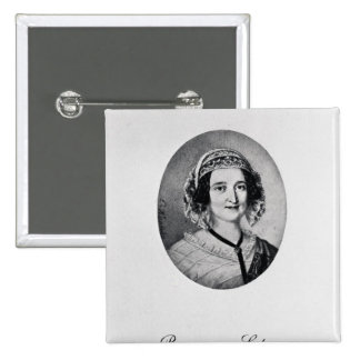 Baroness Louise Lehzen 2 Inch Square Button