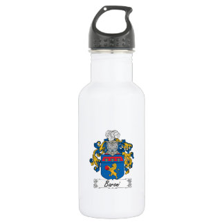 Baroni Family Crest Stainless Steel Water Bottle