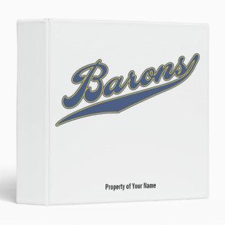 Barons Script Binder