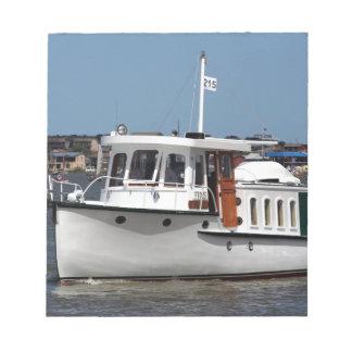 Barooga wooden boat, Goolwa, South Australia Notepad