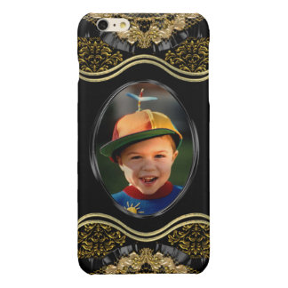 Baroque 6/6s  Insert your own Photo plus Glossy iPhone 6 Plus Case