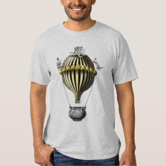 Baroque Balloon Black Yellow Shirt