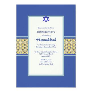 Baroque Band Hanukkah Invitation