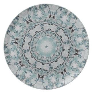 Baroque Blue No.55 Dinner Plate