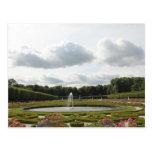 Baroque Castle Garden - Augustusburg Palace Postcards